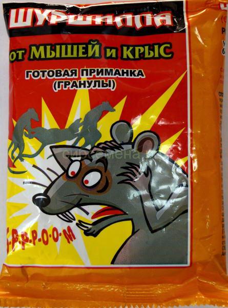 приманка для полевых мышей